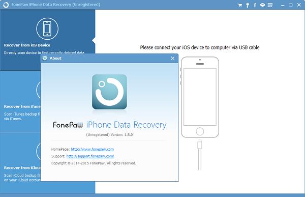 FonePaw iPhone Data Recovery 6.3.0 Crack Updated Version