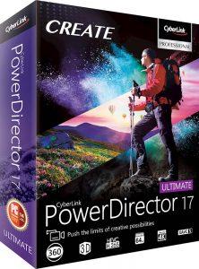 Cyberlink PowerDirector 18.0.2030.0 Crack plus Keygen (2020)