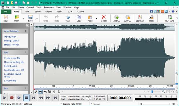 WavePad Sound Editor 9.73 Crack with Registration Code 2020 (Win+Mac)