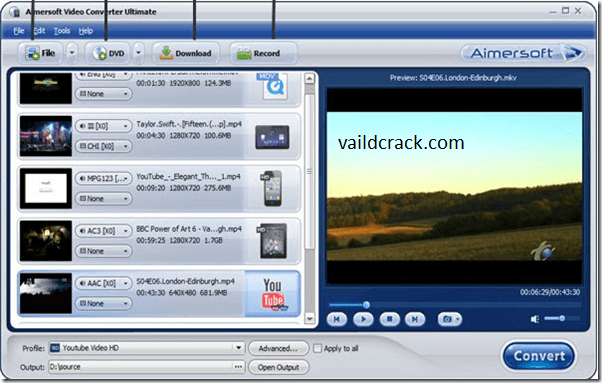 Aimersoft Video Converter Ultimate 11.7.1.4 Keygen