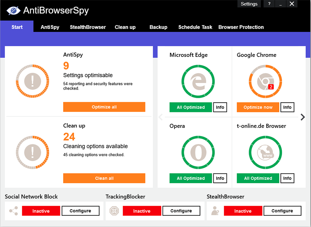 AntiBrowserSpy Pro 2020.302 Retail Crack