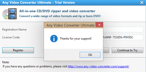 Any Video Converter Ultimate 6.3.8 Crack + Serial Key 2020