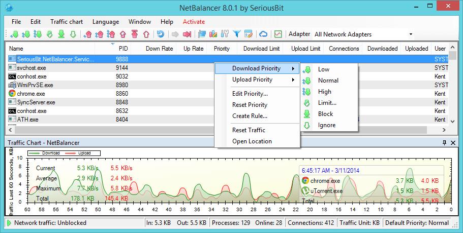 NetBalancer 9.14.6.2246 Crack free