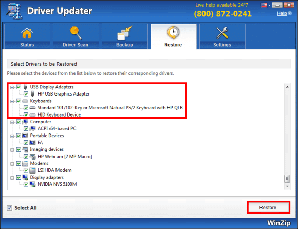 WinZip Driver Updater 5.33.2.6 Crack with Serial Key [Latest]