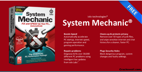 System Mechanic PRO 20.0.0.4 Crack + Activation Key