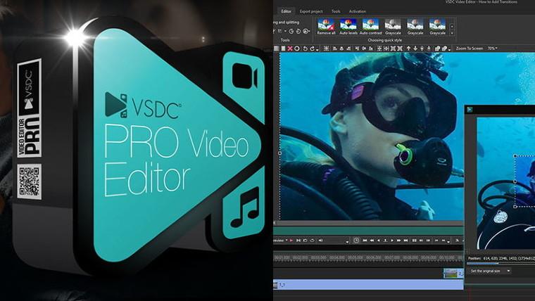 VSDC Video Editor Pro Crack 6.4.2.108 with License Key 2020 Full