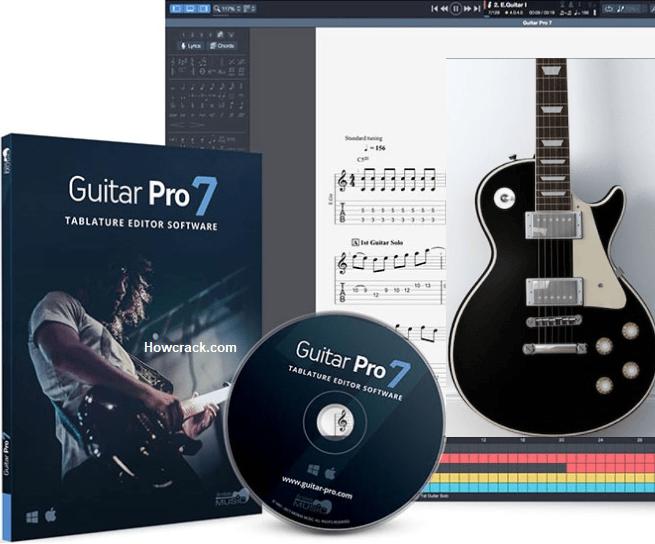 Guitar Pro 7.5.4 Crack incl License Key 2020 Download