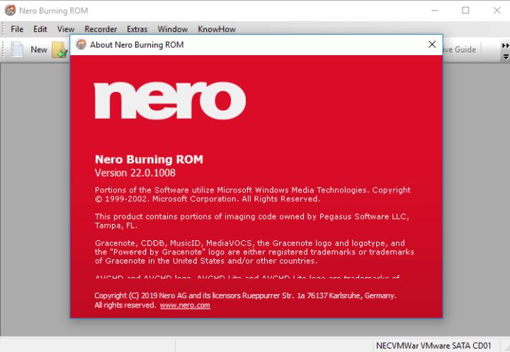 Nero Burning ROM 2020 Crack & Serial Number Download